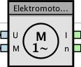 Abb. 3: Der Funktionsbaustein des Reihenschluss-Motors